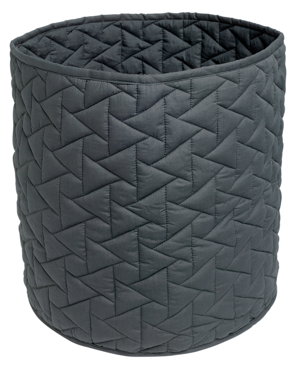 Storage bag - Quilt Star, Anthracite