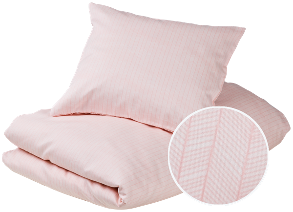Junior bedding - Herringbone, Blush