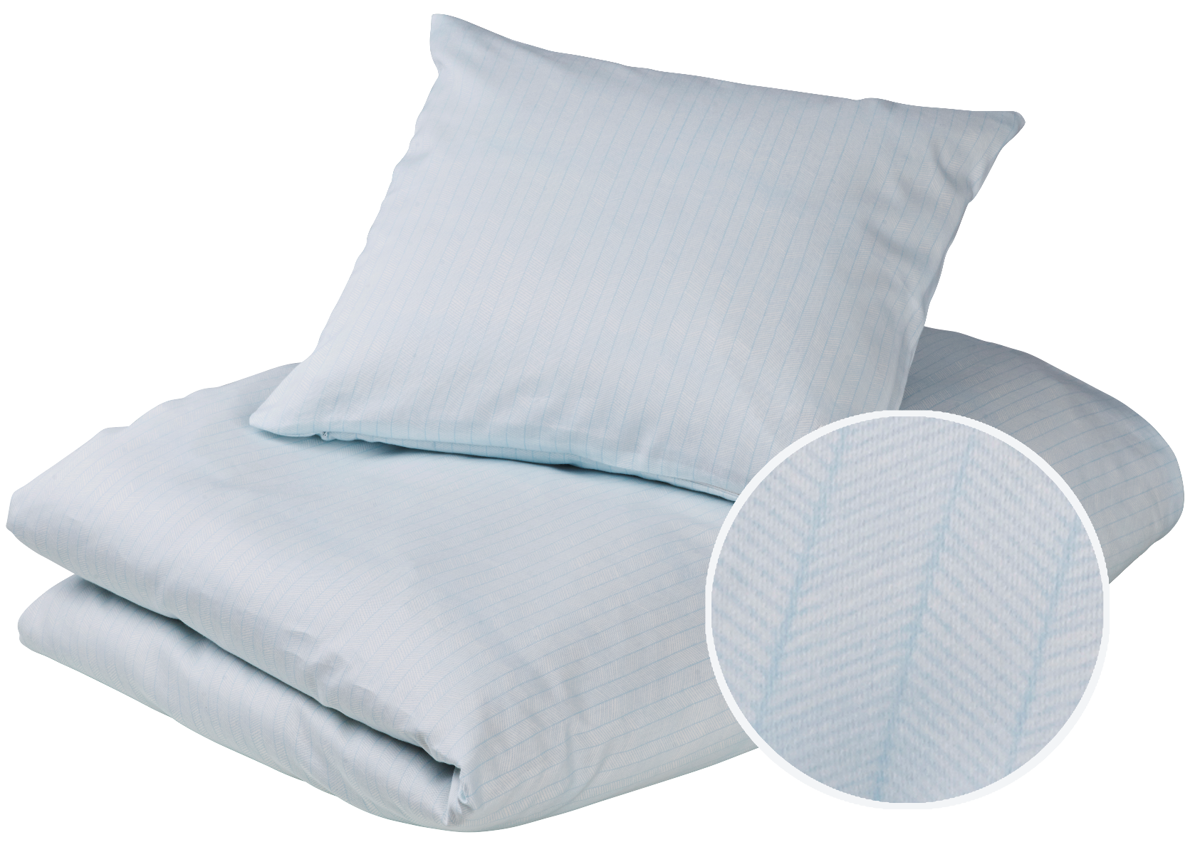 Baby bedding - Herringbone, Sea