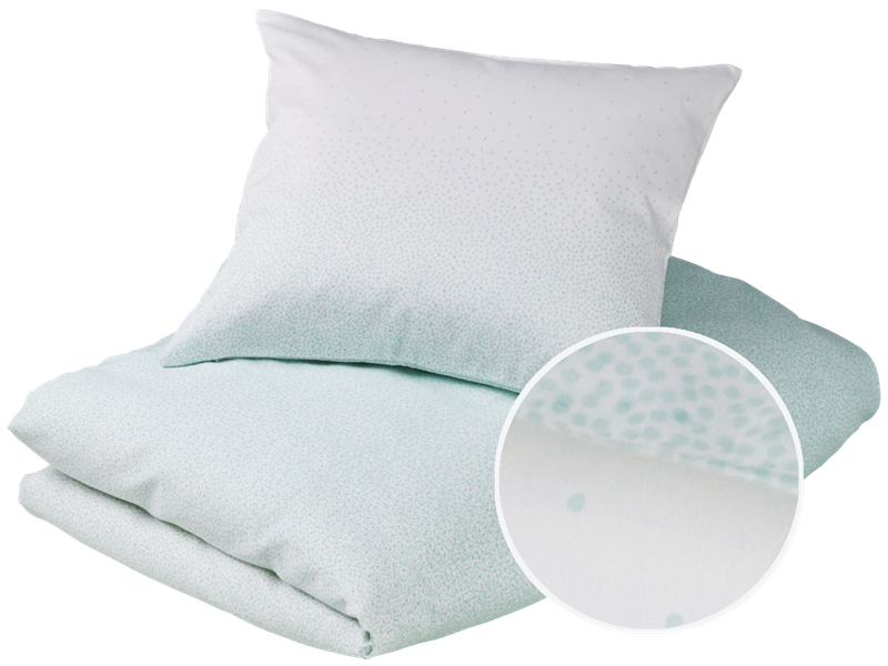 Adult bedding - Snowfall, Mint