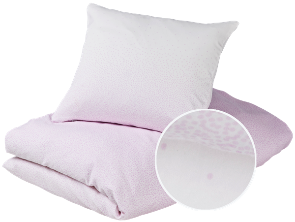 Baby bedding - Snowfall, Violet