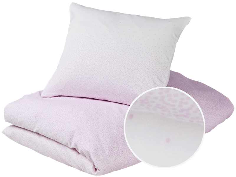 Junior bedding - Snowfall, Violet